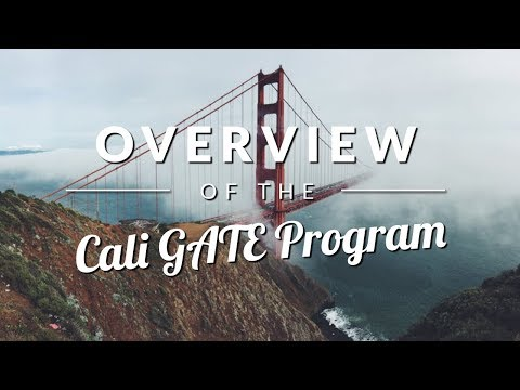 California GATE Program Overview (Gifted and Talented Education) - TestingMom.com