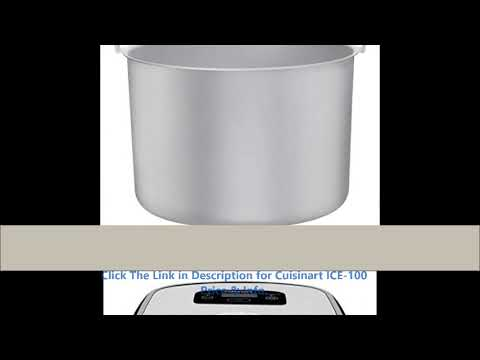 Have Cuisinart ICE-100 Reviews By minba