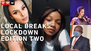 Local Break brings you the latest on South African celebrity and entertainment news. From our president owning the timelines this week, Kelly Khumalo telling us to repent amidst COVID-19, to exclusive chats with some of SA's fave celebs.