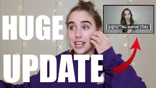 BABYSITTING HORROR STORY UPDATE! Child Protective Services?!? STORYTIME