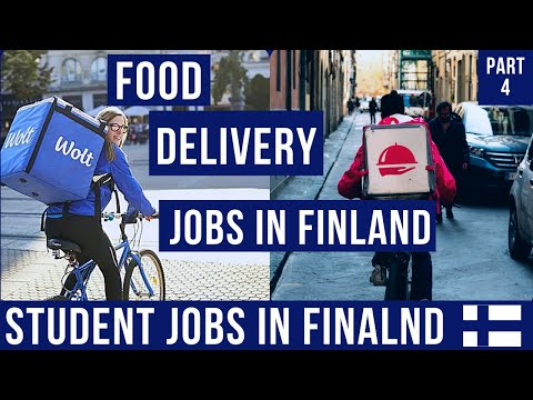 Student Jobs in Finland I Delivery Jobs I P4 I OddJobs I Wolt