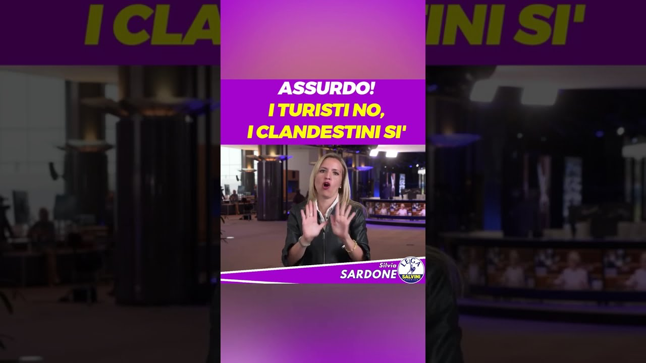 20200708 TURISTI NO CLANDESTINI SÌ Silvia Sardone instagram - YouTube