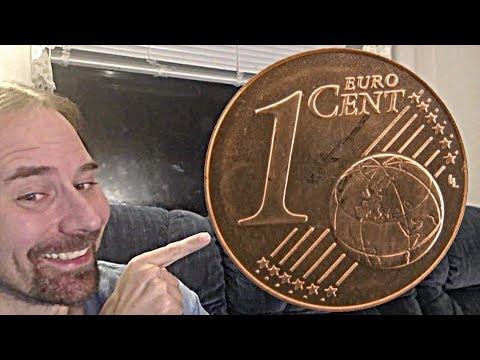 Austria 1 Cent Euro (Gentian) 2002 coin