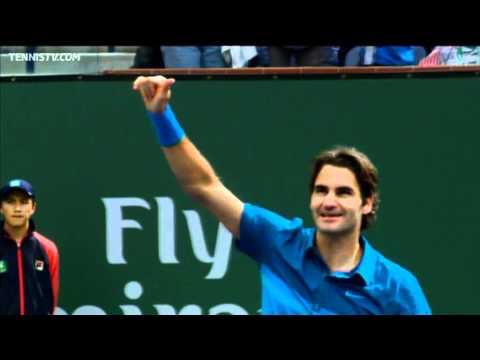 2012 Indian Wells ATP Final Highlights - Roger Federer v John Isner