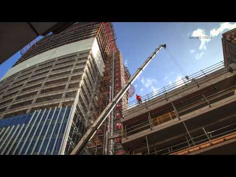 20 Fenchurch Street 'The Walkie Talkie' City of London time-lapse #2