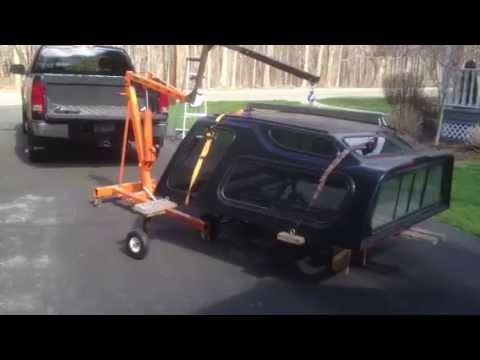 how to clean a truck canopy