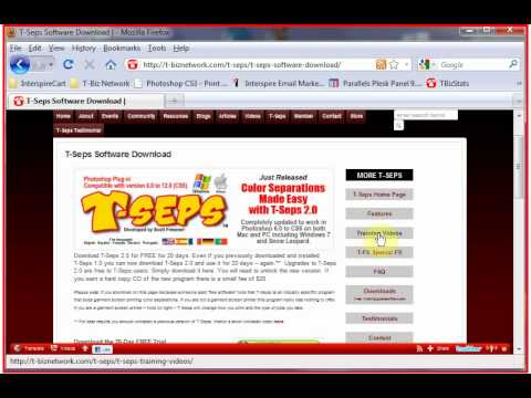 T-Seps Running 20 Day Free Trial Version