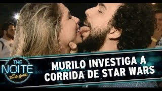 Murilo Couto investiga a corrida de Star Wars
