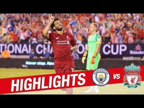 Salah & Mane on target at the Metlife | Manchester City 1-2 Liverpool | Pre-Season 18-19