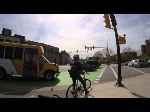 Bike ride from Kitsilano in Vancouver to Simon Fraser University Burnaby
