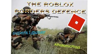 PLAYING WITH ATHOLOMIC! (ROBLOX Collab Video Make an Army