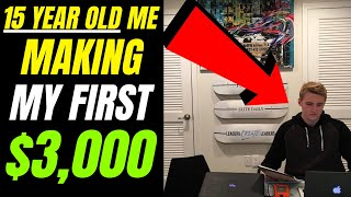 How A 15 Year Old Made $3,000 ONLINE | Easy Income Strategy For Beginners