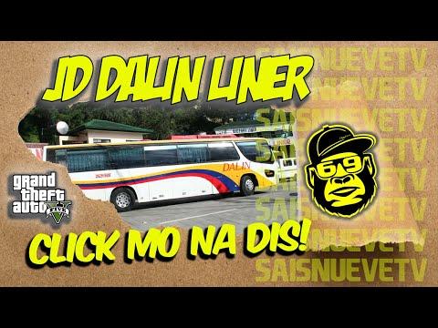 DALIN BUS LINES JD DALIN LINER  GTA 5 Mods TAGALOG Pinoy