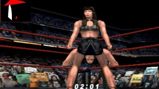 WWF No Mercy Chyna Theme and Finisher HD