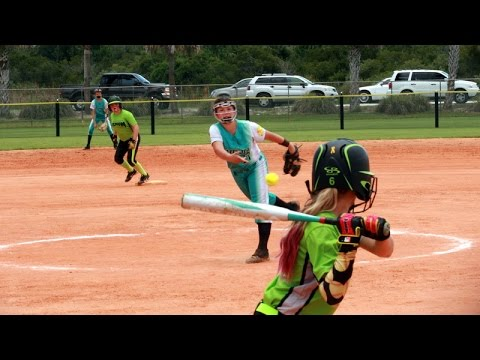 WARRIORS Vs Space South Florida Velocity 12U USSSA School's Out For Softball