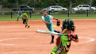 warriors vs space south florida velocity 12u usssa school s out for softball