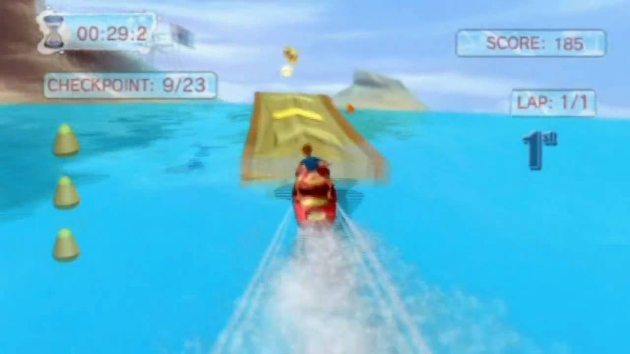 Water Sports (Wii) Jet Skiing gameplay - YouTube