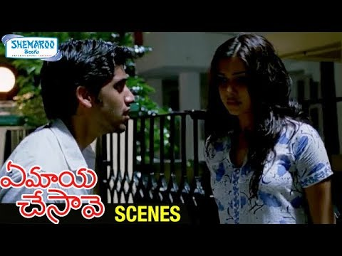 Samantha Fights with Naga Chaitanya | Ye Maya Chesave Telugu Movie Scenes | AR Rahman
