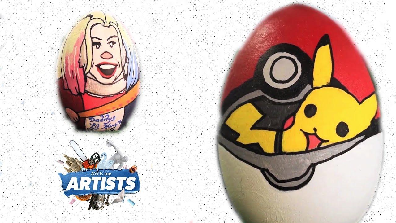 celebrity-easter-eggs-aweme-artists
