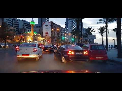 Car driving in Beirut 2018 - 1