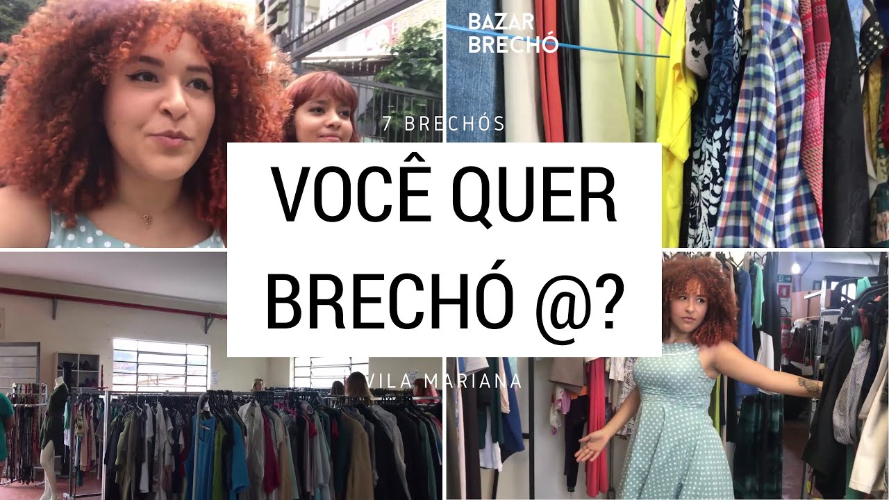 69f2acb64 Tour por Brechós - Vila Mariana SP - YouTube