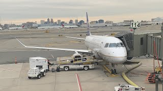United Express ERJ 175 ATL-EWR Economy Plus