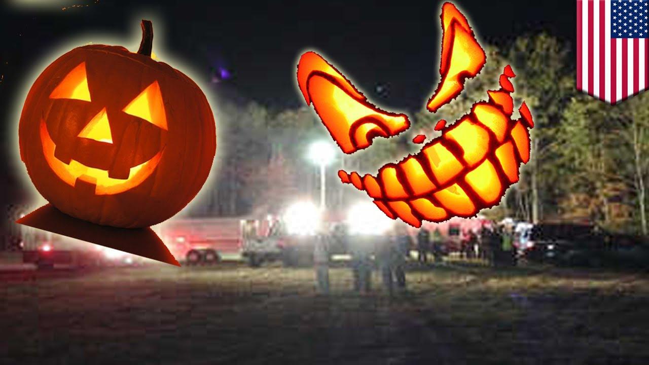 Halloween ride of death: festival-themed hay wagon ride overturns killing  teen girl