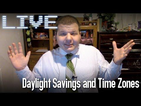 Live! - E30: Daylight Savings & Time Zones