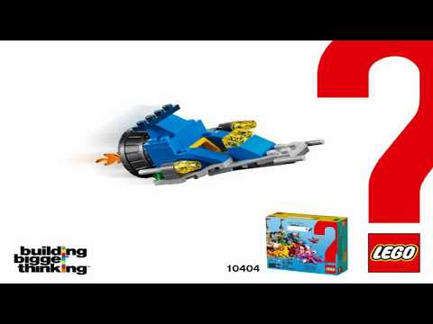 LEGO Brand Campaign Products OCEAN'S BOTTOM Spaceship 10404