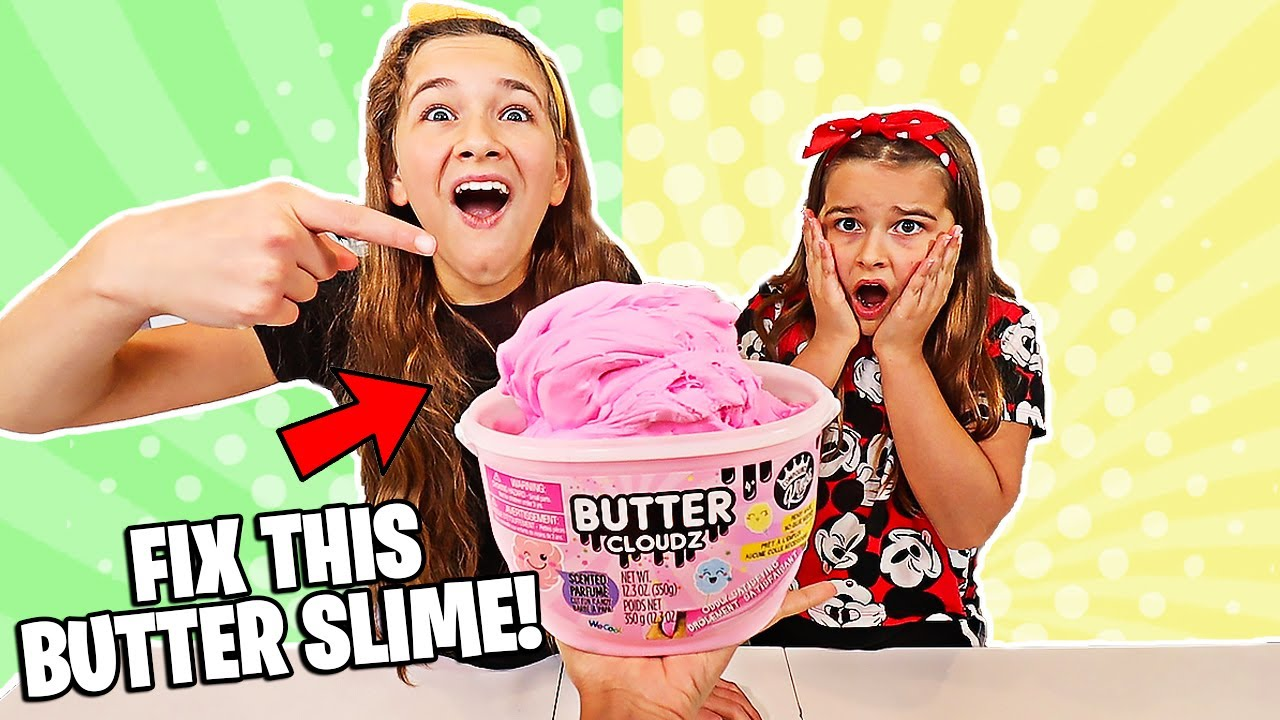 Download FIX THIS STORE BOUGHT BUTTER SLIME CHALLENGE!