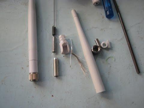 Как разобрать антенну от роутера