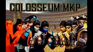 "Mortal Kombat (Colosseum) -TEAM- ""Lin Kuei"" VS -TEAM- ""Shirai Ryu"" Full TEAM MKP 2018"