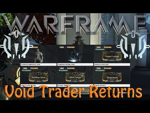 Warframe - Void Traders Returned! 62nd rotation