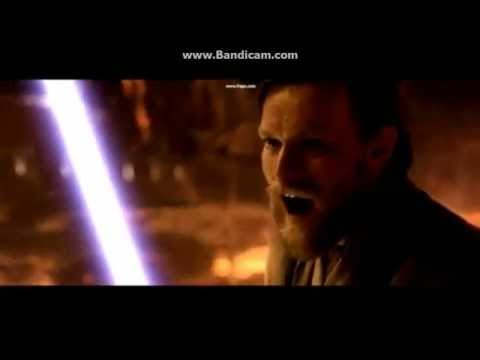 Star Wars: Anakin Skywalker vs. Obi Wan Kenobi Battle ...