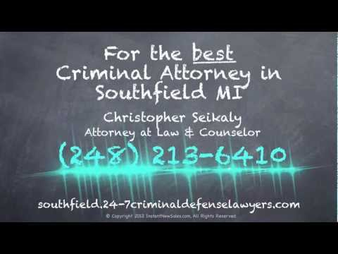 http://southfield.24-7criminaldefenselawyers.com/attorney-lawyer/, We are your Attorney in Southfield MI. Call Us Today at (248) 213-6410  or Visit:  Christopher Seikaly, Attorney at Law & Counselor 24359 Northwestern Hwy, #200-A Southfield, MI 48075 United States (248) 213-6410 criminal.lawyer.247@gmail.com http://southfield.24-7criminaldefenselawyers.com/  Christopher Seikaly, Attorney At Law & Counselor offers Southfield consumers the highest quality Attorney products and services. Our company specializes in Criminal Attorney Matters, Attorney & Lawyer Representation and DUI Lawyers Services. Christopher Seikaly, Attorney At Law & Counselor has developed into Southfield MI's Attorney Business leader. Our exceptional customer service personnel is looking forward to helping you. For extra information call us at: (248) 213-6410