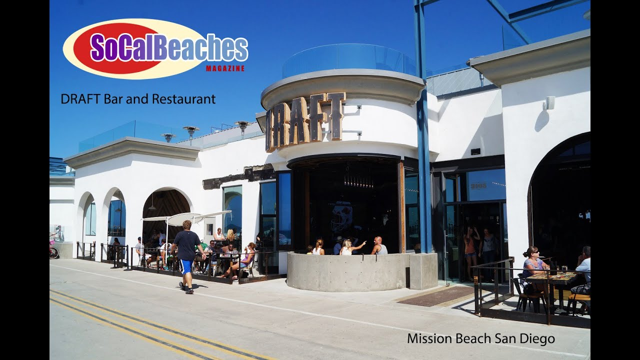 Draft Mission Beach Bar And Restaurant 3105 Oceanfront Walk San Go