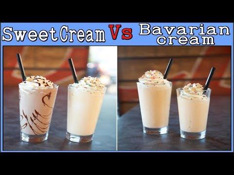 Sweet Cream Vs Bavarian Cream (Reviews Of FW, CAP, LOR, TFA, RF)