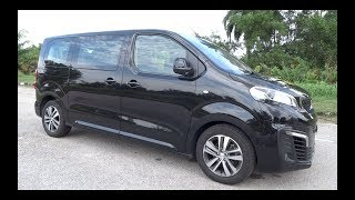 2017 Peugeot Traveller 2.0 BlueHDi Start-Up and Full Vehicle Tour