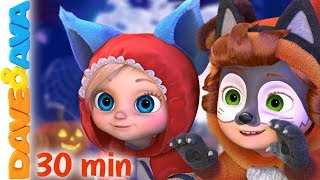 👻 One, Two, the Kids Say Boo   Halloween Songs for Kids   Baby Songs by Dave and Ava 👻