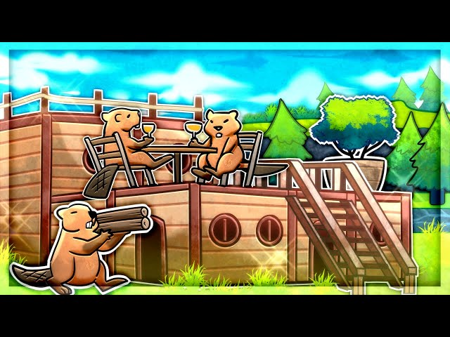 Building The BEST BEAVER COLONY EVER in Timberborn (New Faction)