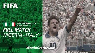 WorldCupAtHome Nigeria v Italy USA 1994