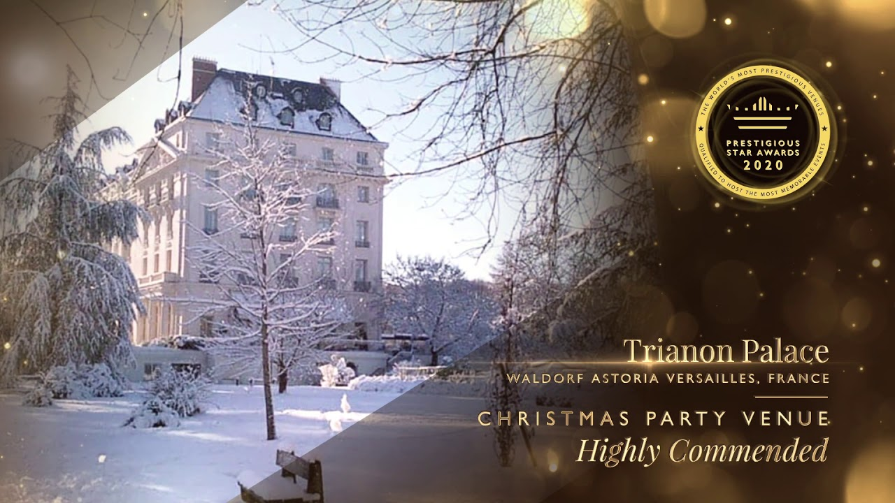 Christmas Party Venues Near Me 2020 Christmas Party Venue   Highly Commended, Trianon Palace