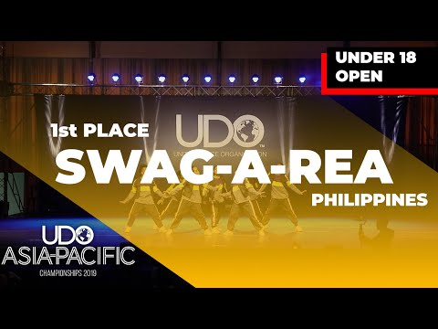[1st PLACE] Swag-A-Rea | Under 18 Open | UDO ASIA-PACIFIC  2019