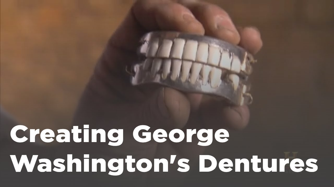 George Washingtons Teeth George Washingtons Mount Vernon