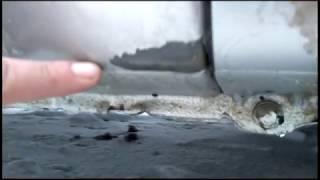 Лада Калина ржавеет. Зима только началась. Качество Лакокрасочного Покрытия. Lada Kalina 2(, 2017-01-05T16:38:43.000Z)