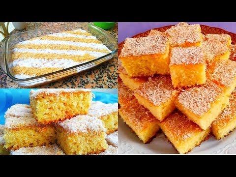 gâteau-bassboussa-facile-pour-aÏd-2019---cuisine-marocaine