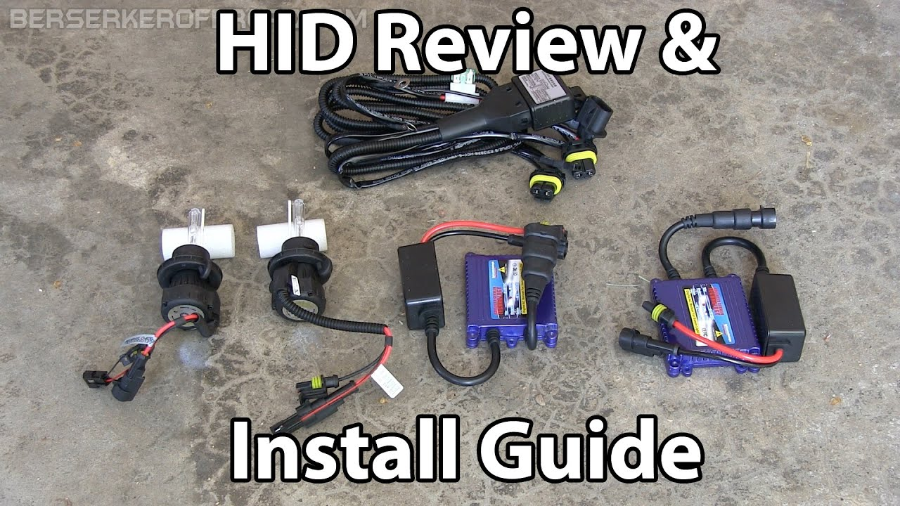 small resolution of hid headlights install review jeep wrangler
