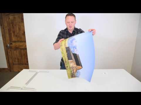New Favorite way to Hang a Print - Bay Photo Xpozer