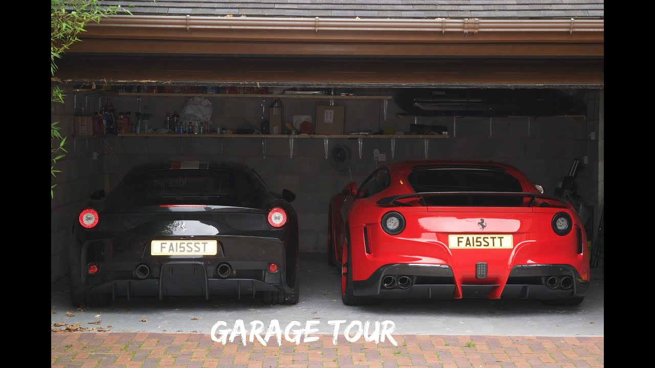 Ferrari garage tour uk youtube for Garage automobile tours nord