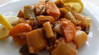 Pırasa Yemeği Tarifi | Zeytinyağlı Pırasa Yemeği Nasıl Yapılır